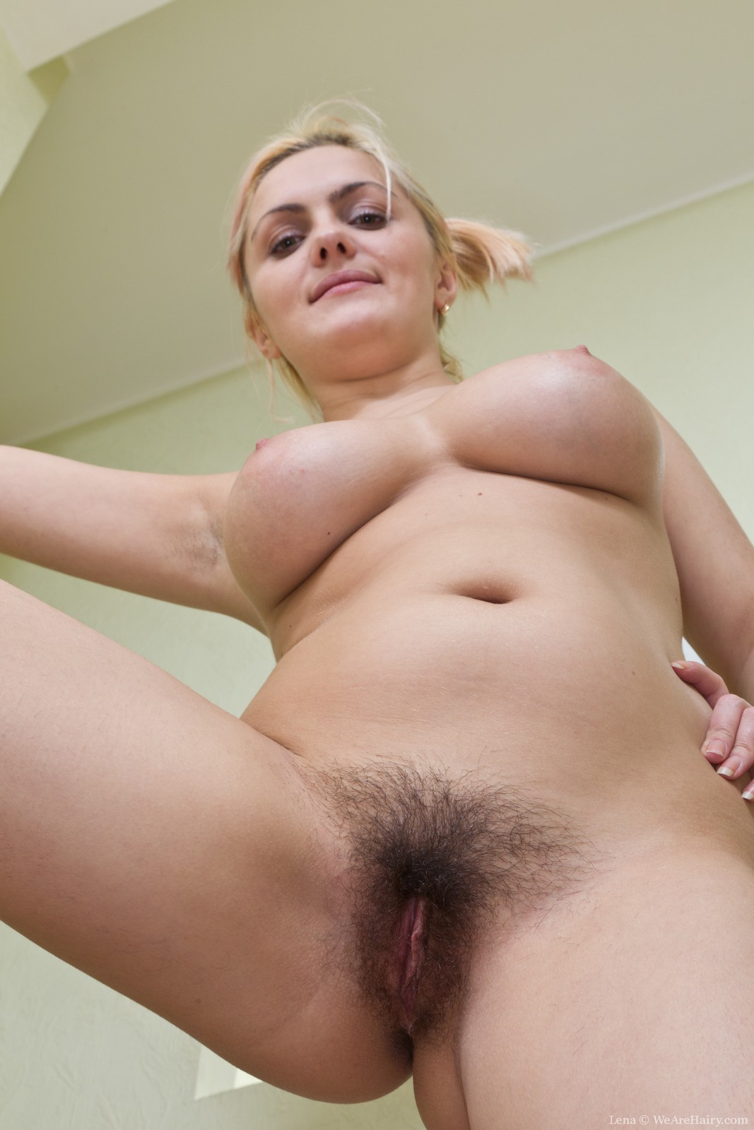 Busty blonde mature